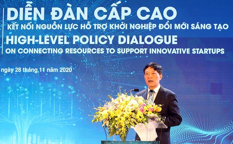 Thứ trưởng Trần Văn Tùng phát biểu tại sự kiện. Ảnh: TF
