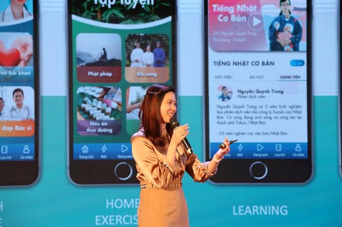 Dự án Hasu trong Top 10 Techfest giới thiệu về ứng dụng chăm sóc sức khỏe người cao tuổi