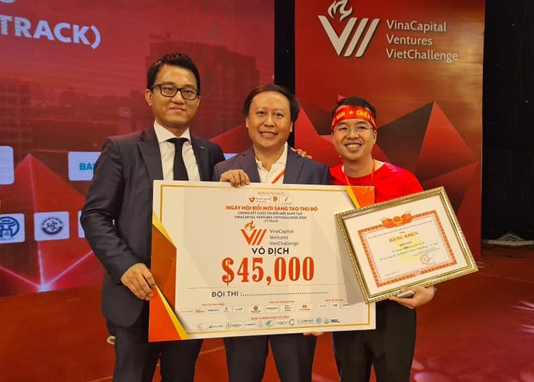 VIoT đạt giải quán quân Cuộc thi Vinacapital Ventures Vietchallenge 2020 | Nguồn: VIoT