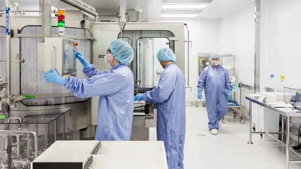 Nhà máy sản xuất vaccine Covid-19 của Viện Huyết thanh. Nguồn: Viện Huyết thanh.