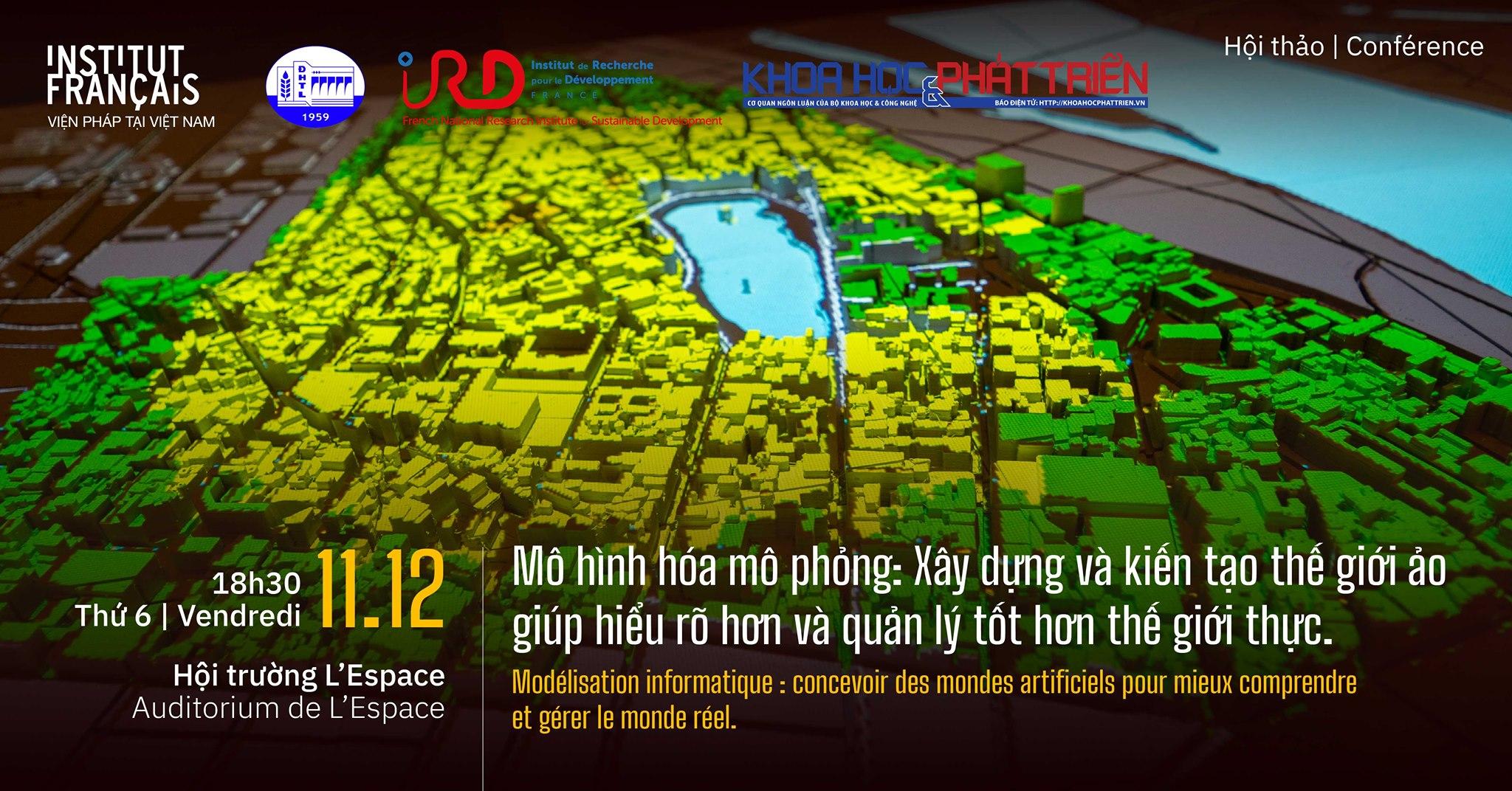 Hội thảo Mô hình hóa mô phỏng ngày 11/12 | Nguồn: L'Espace