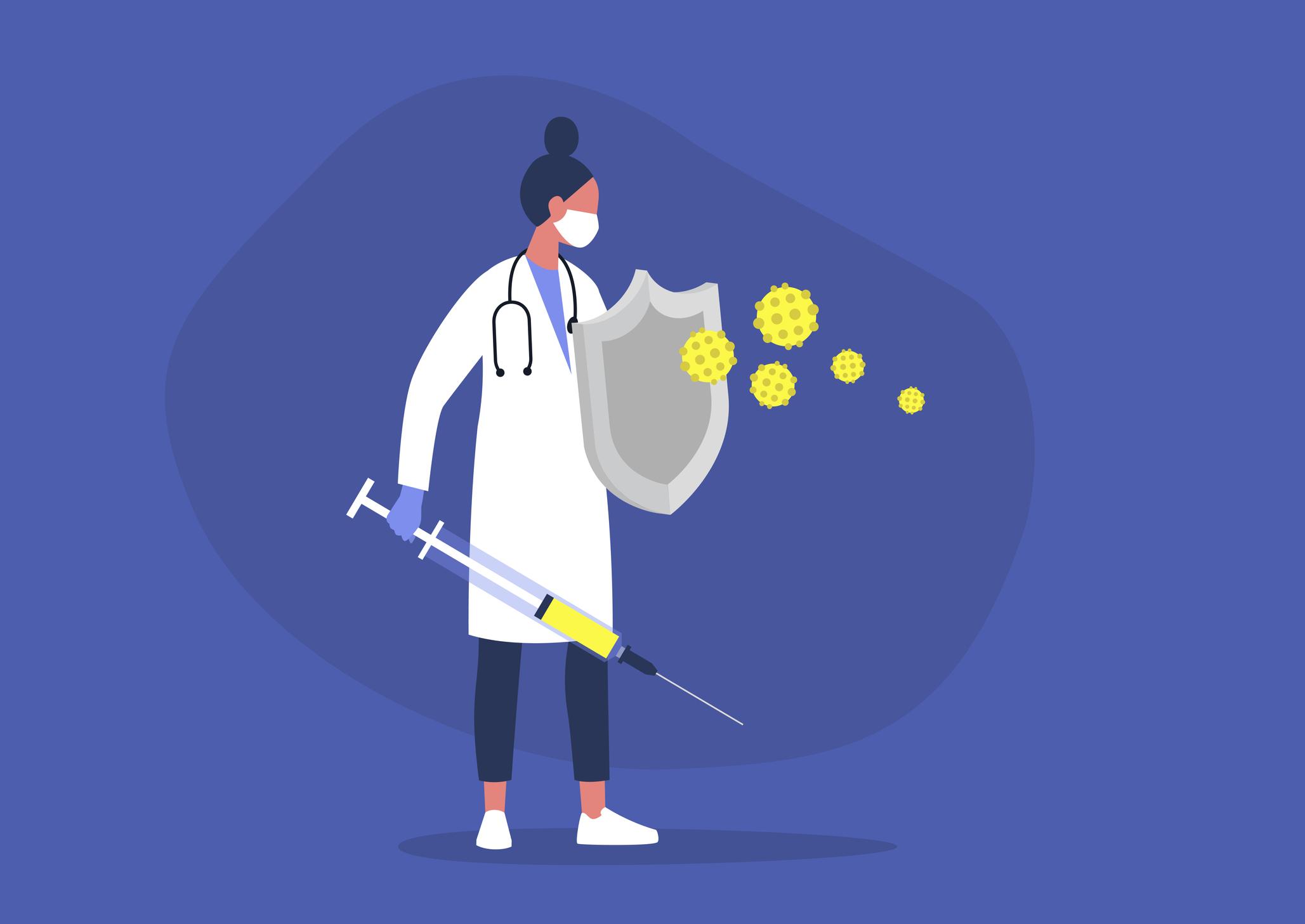 Nhà khoa học tuyến đầu trong nghiên cứu vaccine