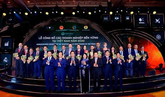 Các doanh nghiệp bền vững tiêu biểu của Việt Nam | Ảnh: BTC