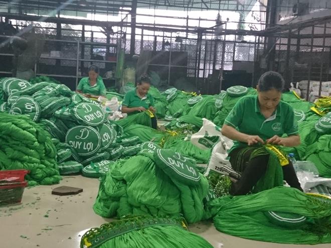 Võng xếp Duy Lợi từng bị xâm phạm kiểu dáng công nghiệp ở nhiều nước như Nhật Bản, Đài Loan. Nguồn: CAND