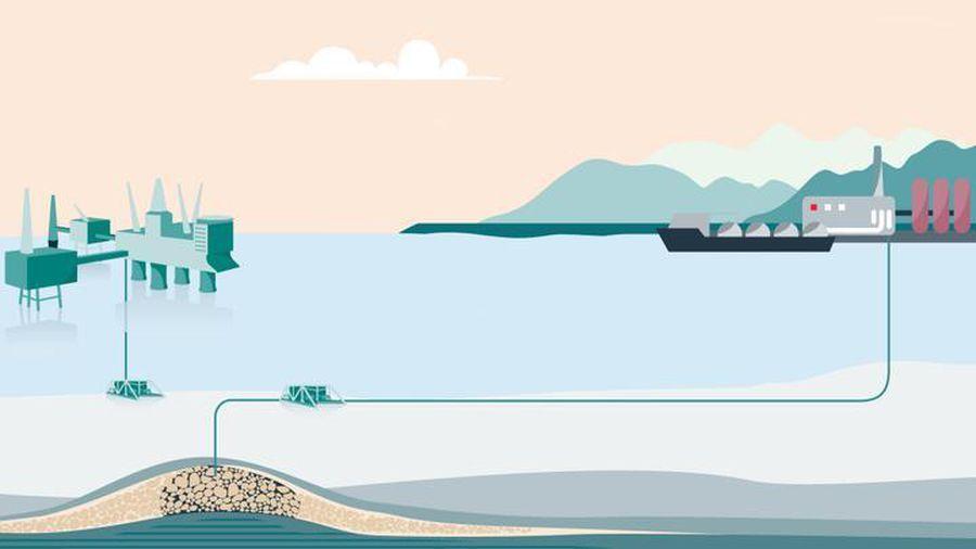 Na Uy vừa phê duyệt một dự án lớn nhằm thu giữ và lưu trữ CO2 dưới đáy Biển Bắc