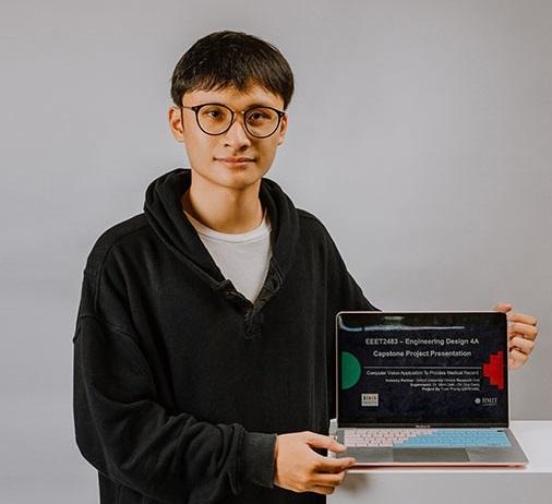 Cử nhân Kỹ sư phần mềm Phùng Minh Tuấn   Ảnh: ICTnews