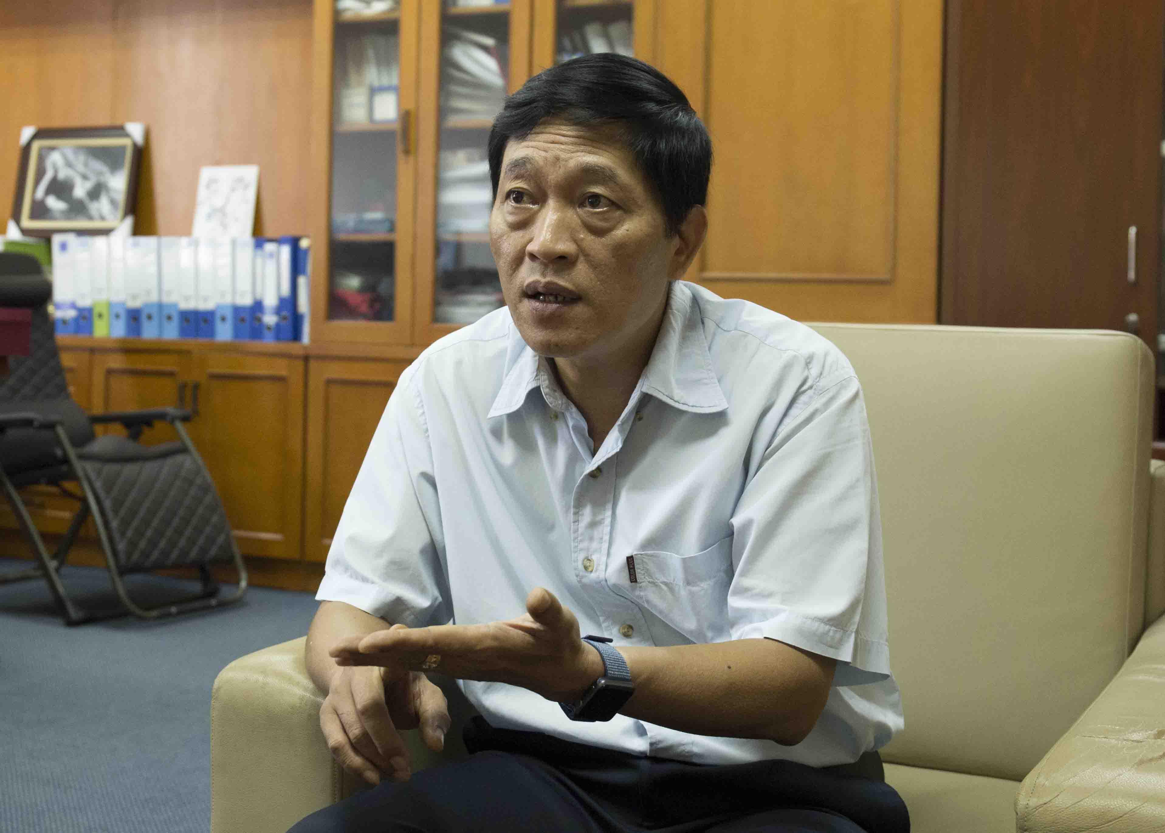 Ông Trần Văn Tùng, Thứ trưởng Bộ Khoa học và Công nghệ. Ảnh: BN