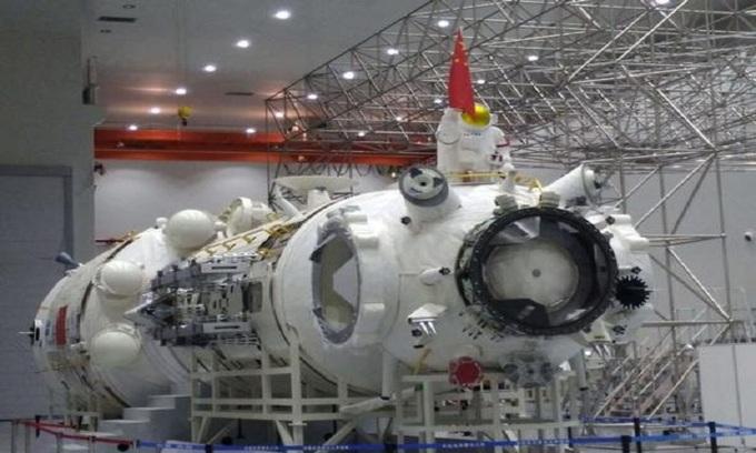Khoang lõi trạm vũ trụ có người lái của Trung Quốc. Ảnh: China Daily.