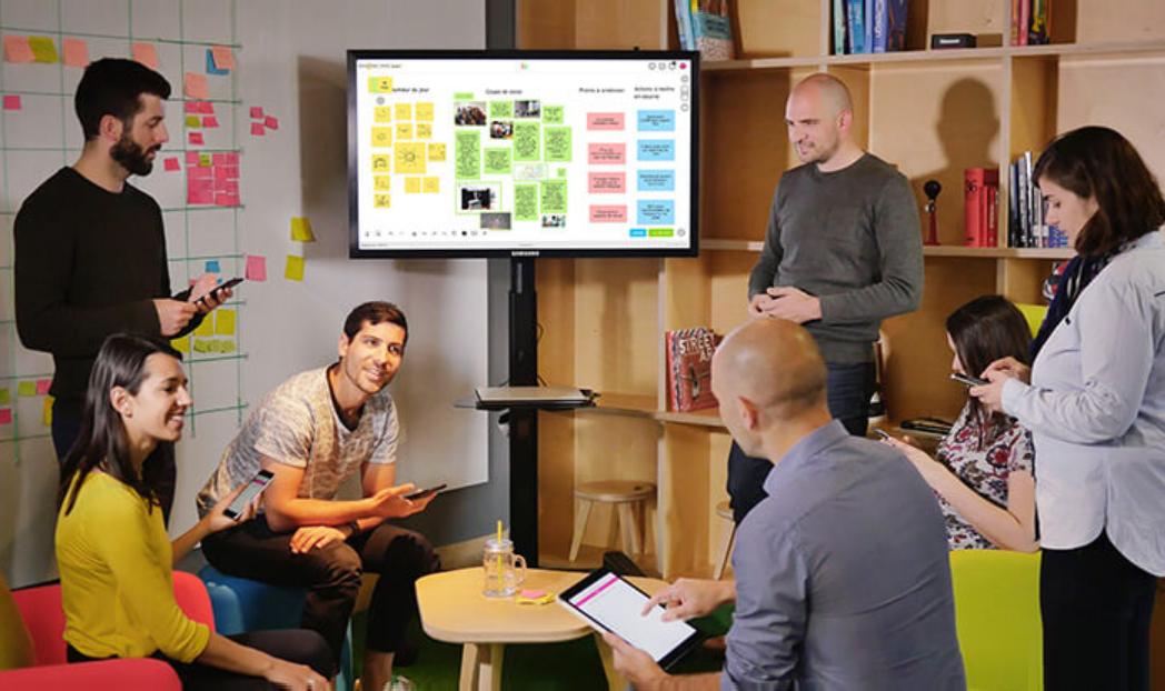 Ảnh minh họa | Startup Klaxoon hợp tác với Dropbox để khiến giải pháp của họ dễ tiếp cận hơn cho các doanh nghiệp vừa và nhỏ, trường đại học và tổ chức phi chính phủ | Nguồn: EU-Startup