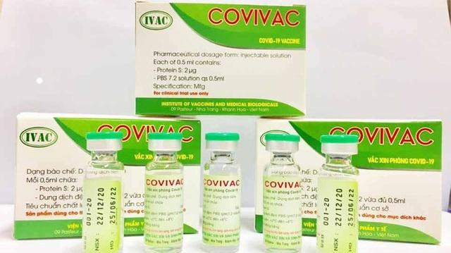 Vắc xin Covivac phòng COVID-19 do IVAC sản xuất sẽ được tiêm thử nghiệm trên người vào tháng 1/2021