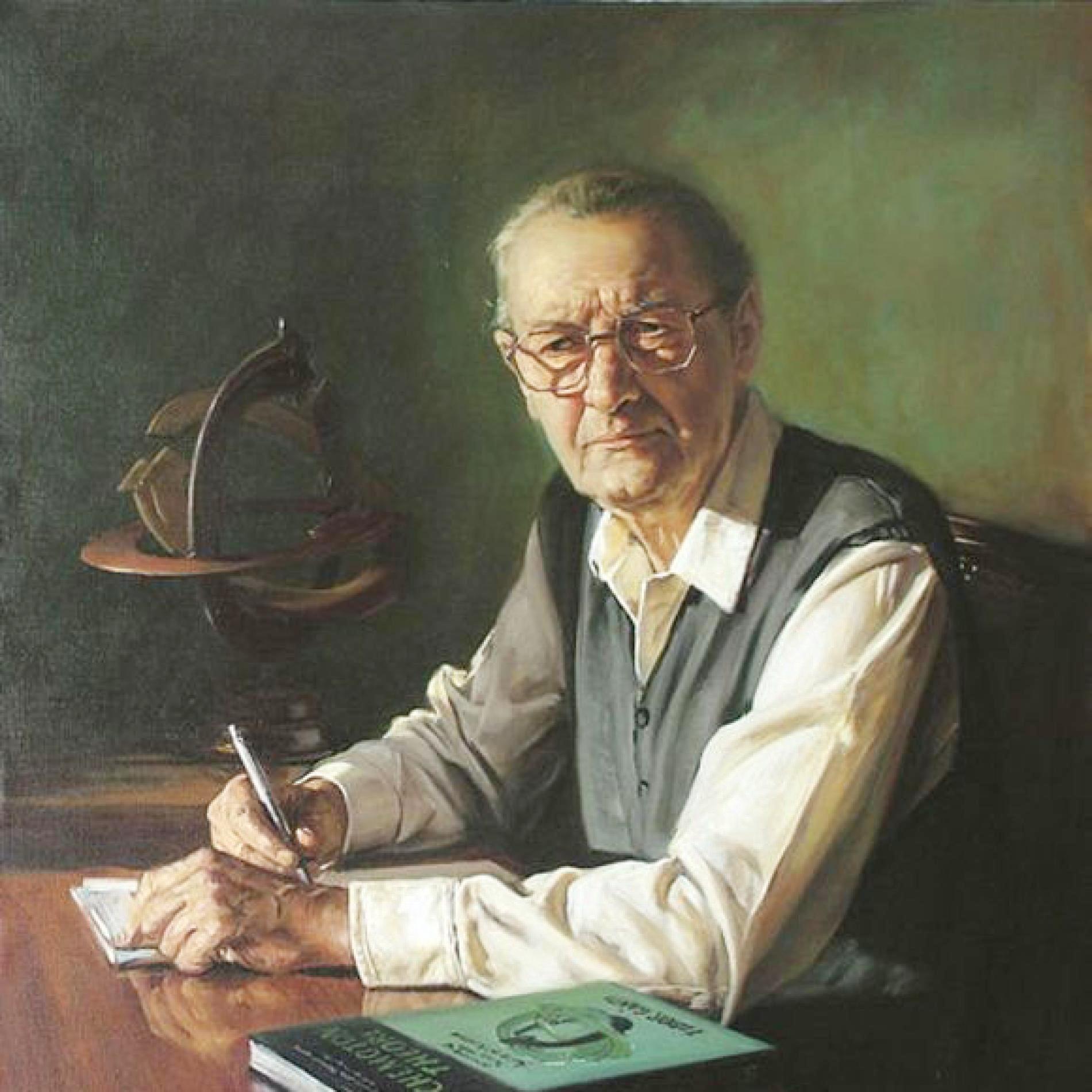 Tibor Gánti (1933 - 2009). Ảnh: László Gulyás.