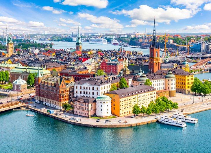 Thủ đô Stockholm của Thụy Điển. Ảnh: Planetware.com