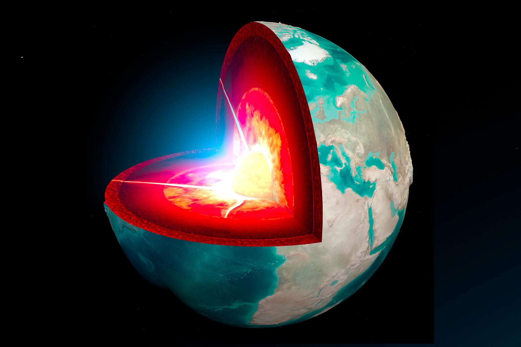 Phần lõi Trái đất.