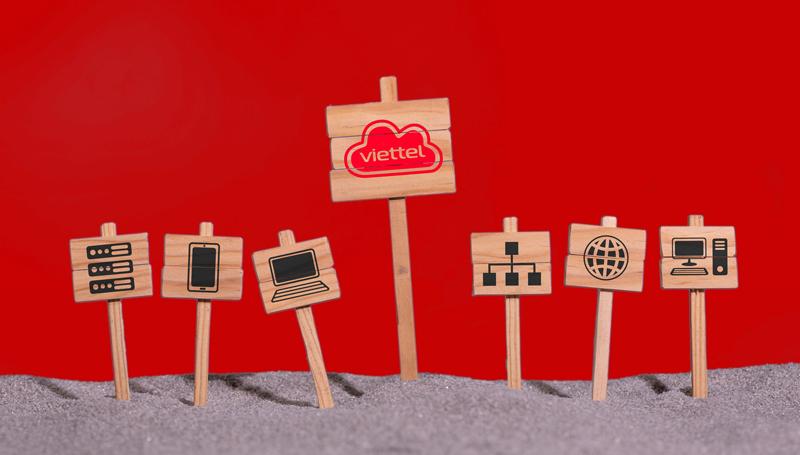 Nhận diện thương hiệu mới của Viettel. Nguồn: Viettel