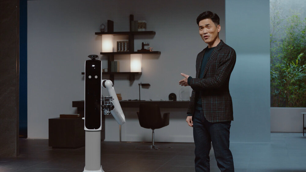 Robot mới của Samsung nấu ăn và giặt quần áo