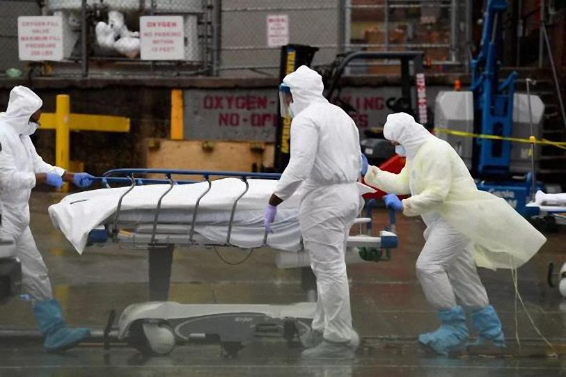 Hiện nay, Mỹ có gần 400.000 người tử vong do Covid-19. Ảnh. AFP.