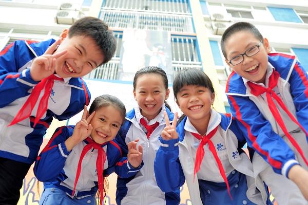 Niềm vui đến trường