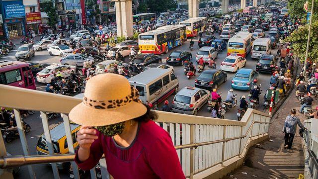 Giao thông có lẽ là nguồn thải dễ điểm mặt chỉ tên trong các nguồn phát thải chất ô nhiễm không khí | Ảnh: Getty Image