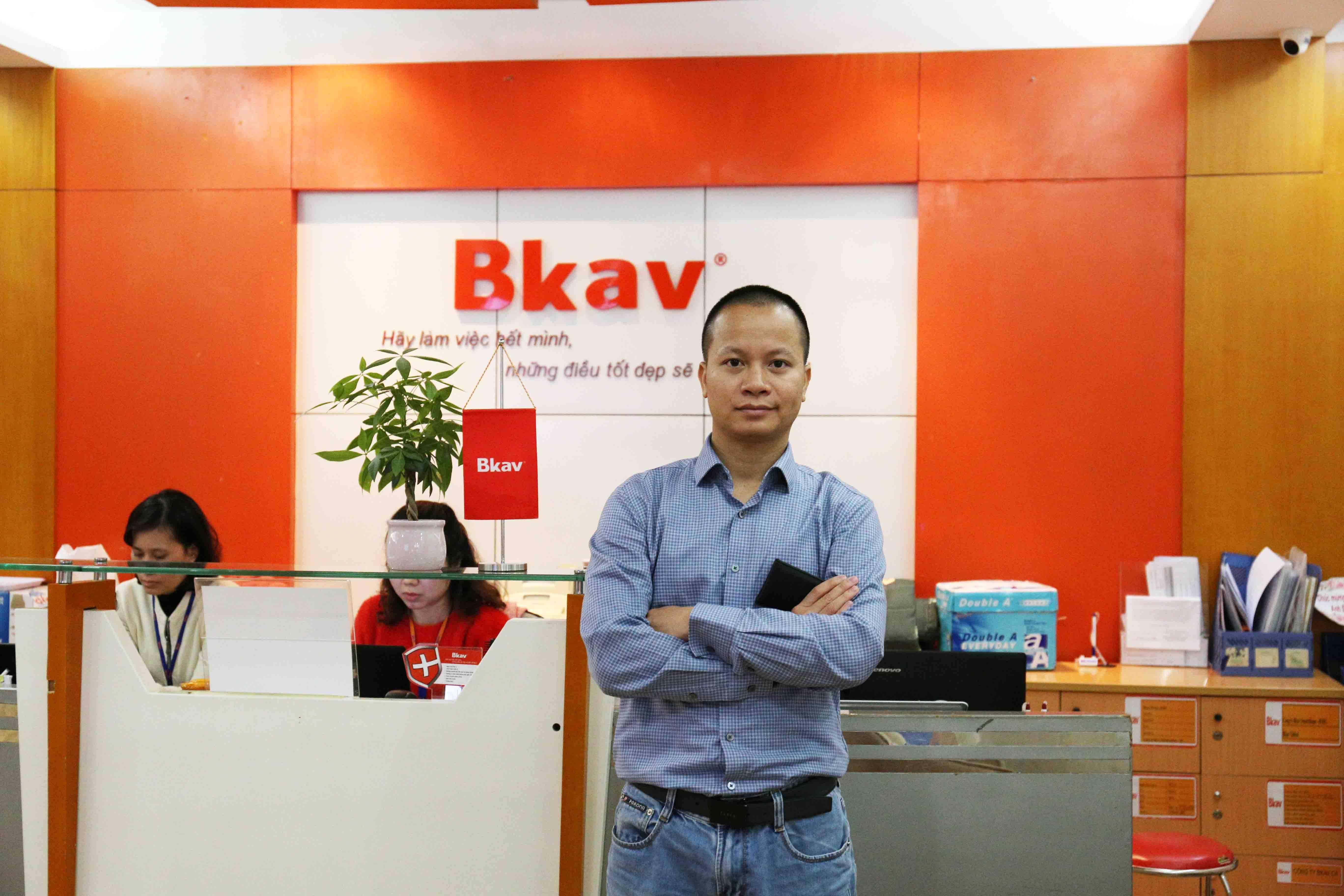Ông Lê Quang Hiệp – Tổng giám đốc BKAV Global. Ảnh: Ngọc Vũ