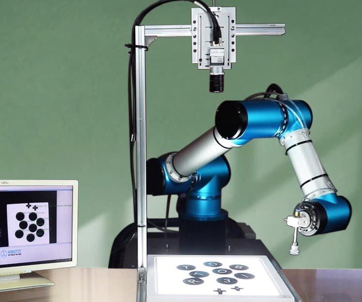 Cánh tay Robot dùng cho công nghiệp nhẹ. Ảnh: Robot3T