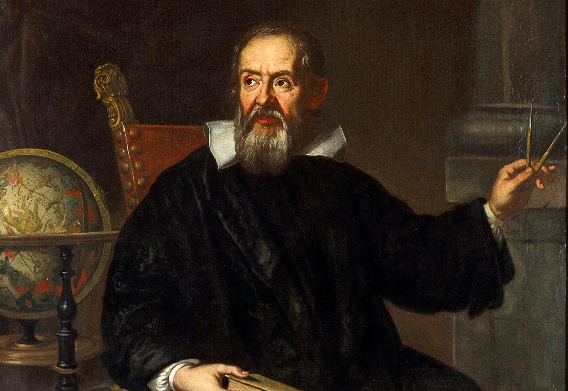 Nhà bác học Galileo.