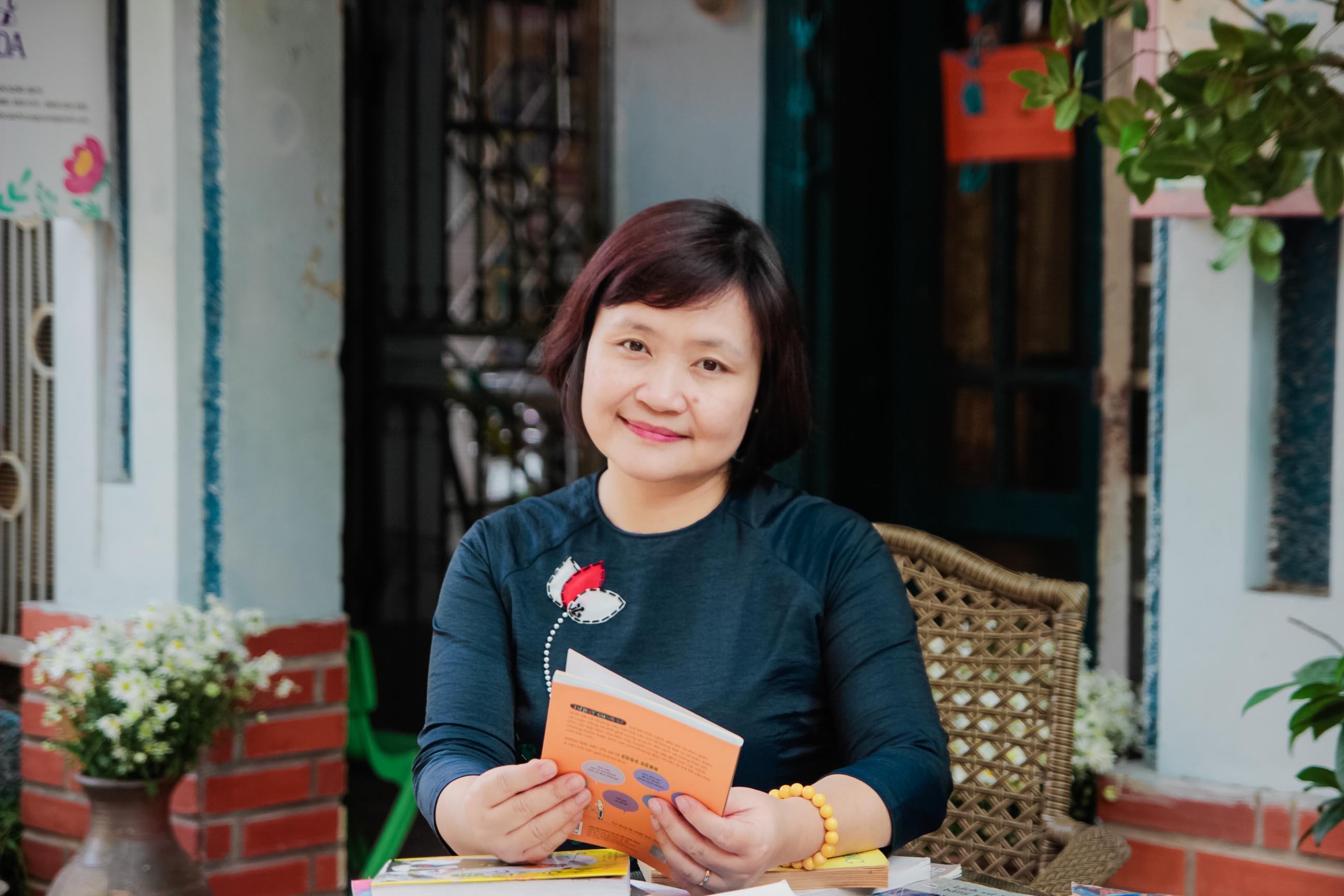 Tiến sĩ Giáo dục Nguyễn Thụy Anh. Ảnh: Tác giả cung cấp
