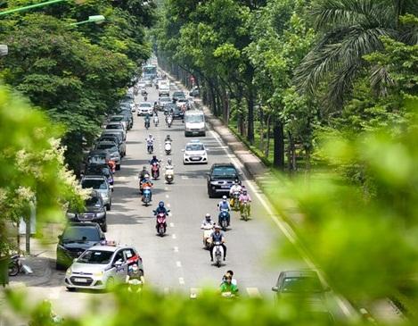 Một góc cây xanh Hà Nội | Ảnh: An ninh Thủ đô