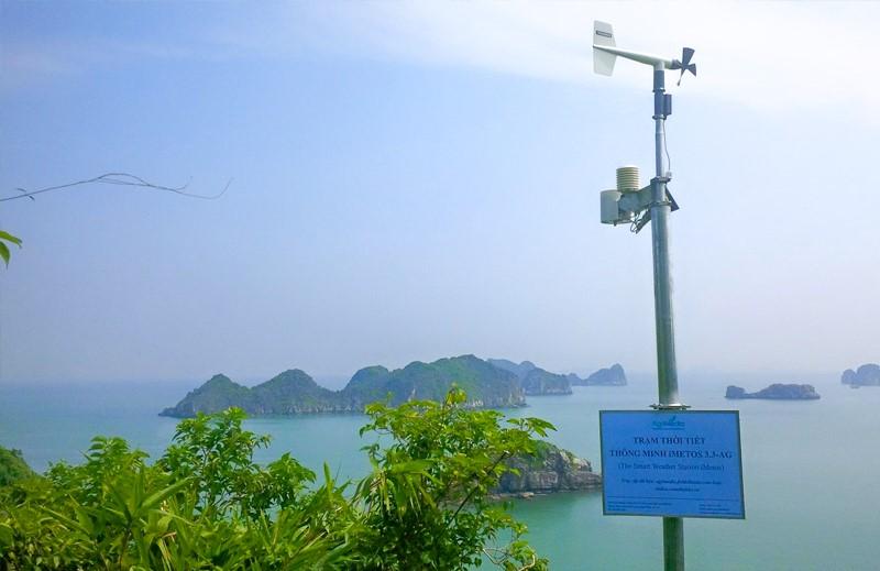Hiện WeatherPlus là đơn vị tư nhân đầu tiên nhận được giấy phép cung cấp thông tin Dự báo thời tiết tại Việt Nam, sở hữu hơn 400 trạm quan trắc khắp cả nước. Nguồn: WP
