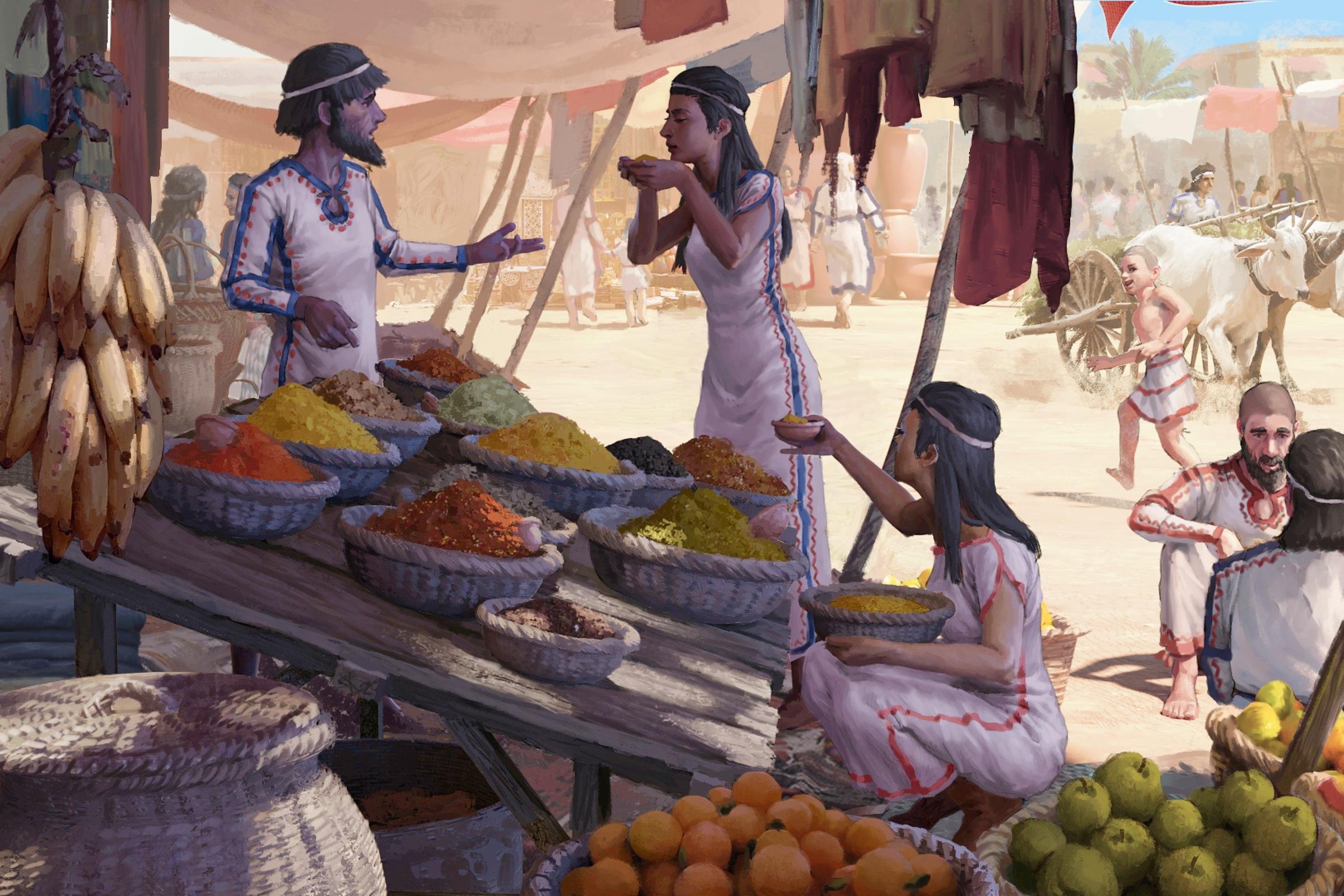Người dân Địa Trung Hải nhập khẩu đồ ăn từ 3500 năm trước