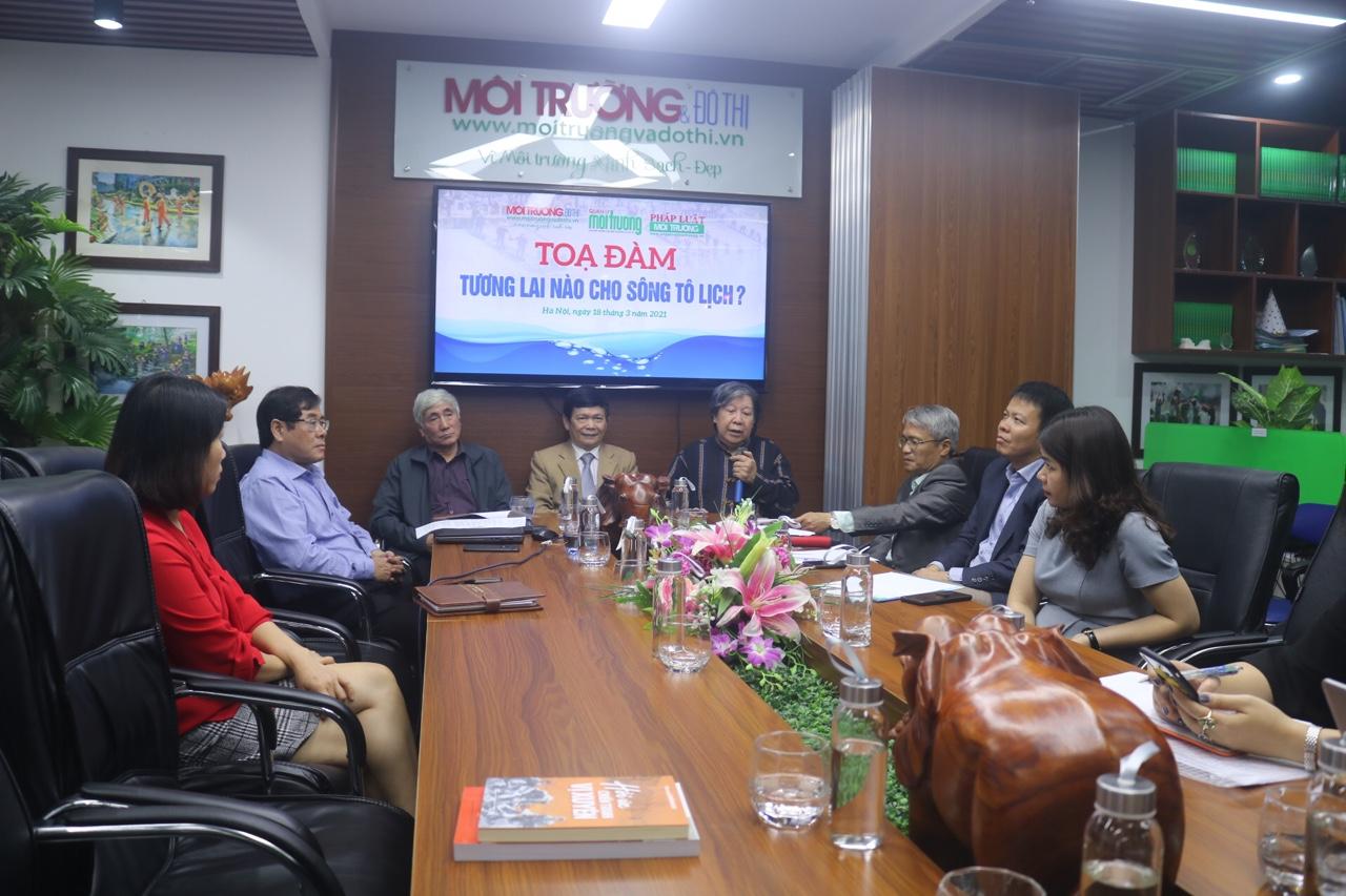 Toàn cảnh buổi tọa đàm về sông Tô Lịch. Nguồn: BTC