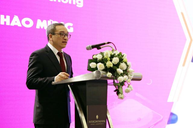 Thứ trưởng Bộ TT&TT Phan Tâm phát biểu tại sự kiện. Nguồn: IDG