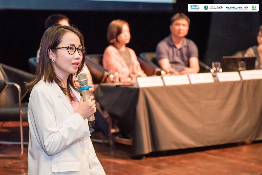 Bà Phan Thanh Hải - Giám đốc điều hành mạng lưới dữ liệu chất lượng không khí PAM Air