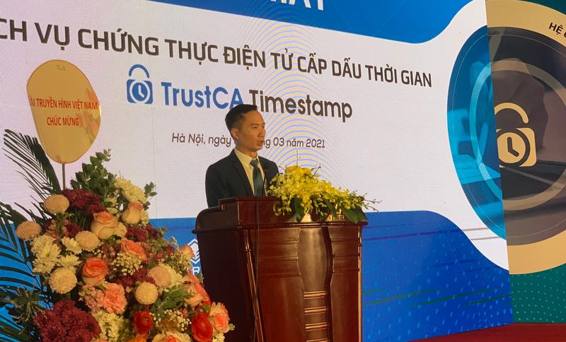 Ông Nguyễn Thiện Nghĩa phát biểu tại sự kiện. Ảnh: NV