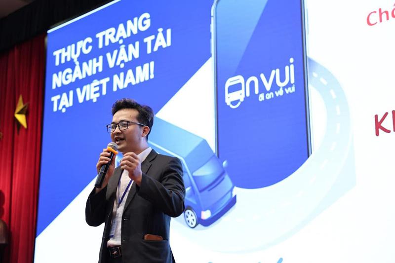 CEO An Vui Phan Bá Mạnh giới thiệu về sản phẩm. Nguồn: BTC