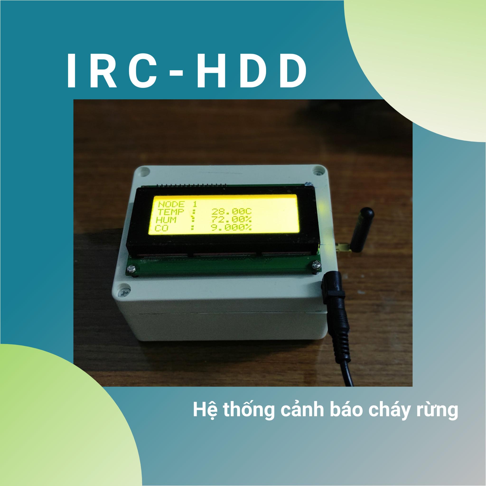 Nhóm IRC-HDD - Hệ thống cảnh báo cháy rừng từ xa