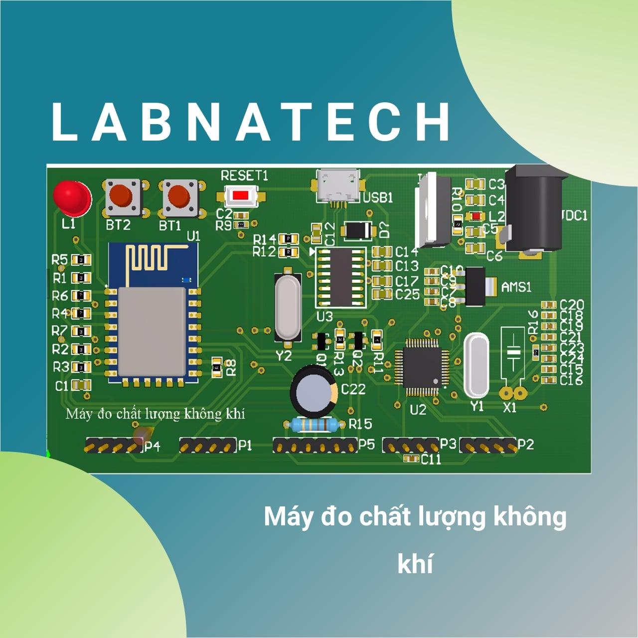 Nhóm LAB Natech - Máy đo chất lượng không khí