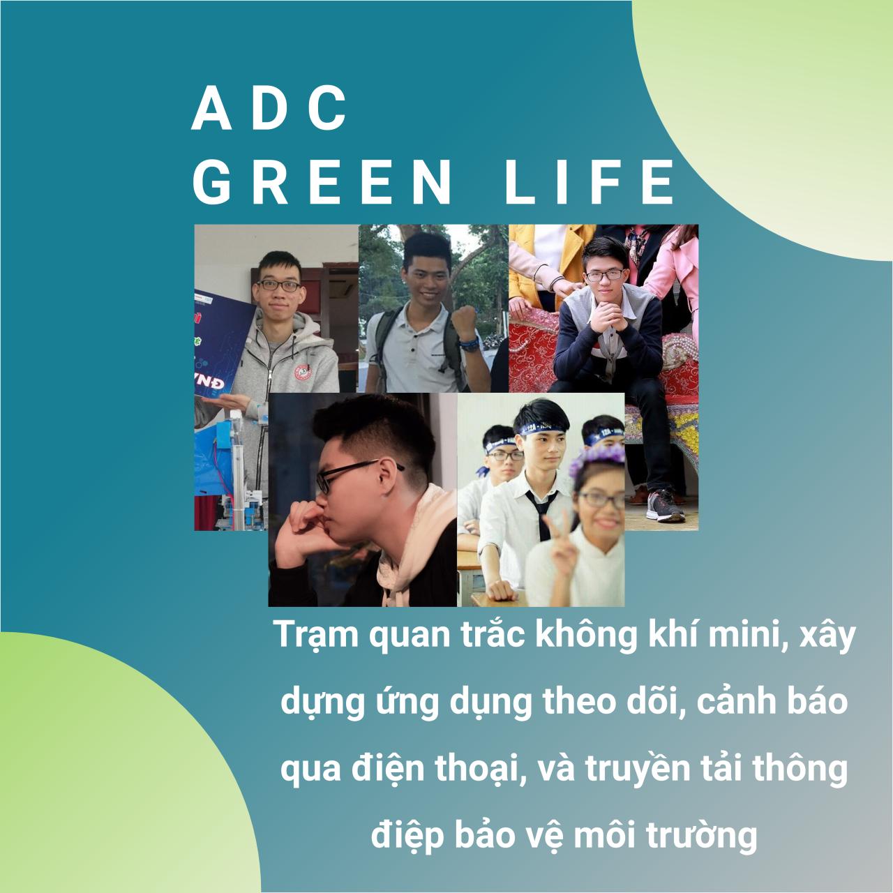 Nhóm ADC Green Life - Trạm quan trắc không khí mini EcoGreen