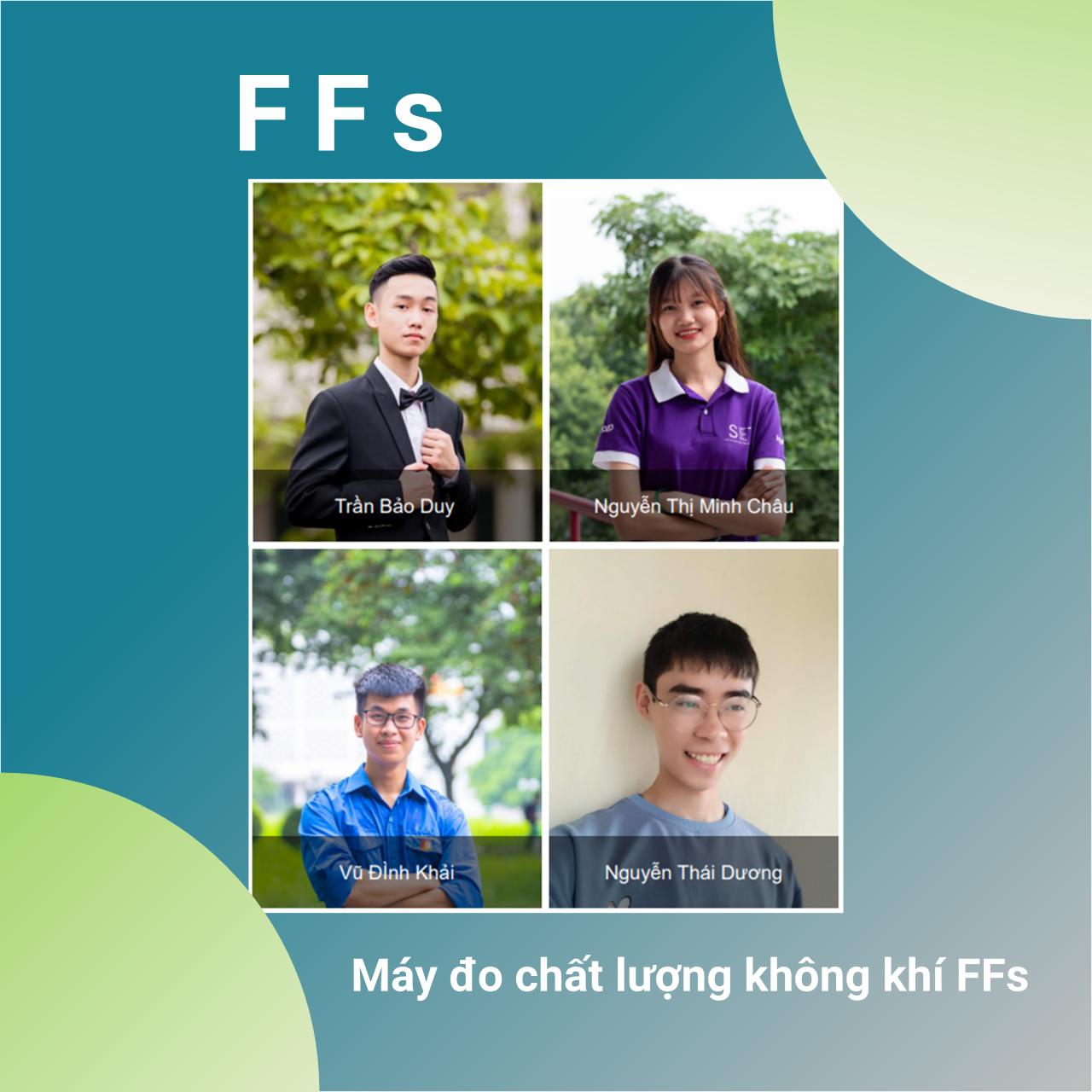 Nhóm FFs - Máy đo chất lượng không khí FFs