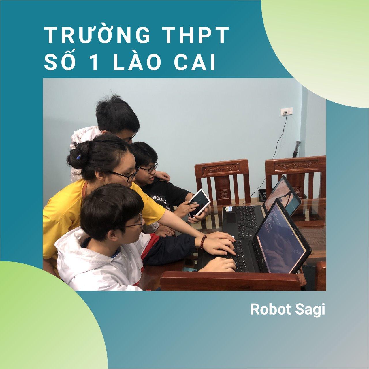 Nhóm học sinh trường THPT số 1 Lào Cai - Robot Sagi