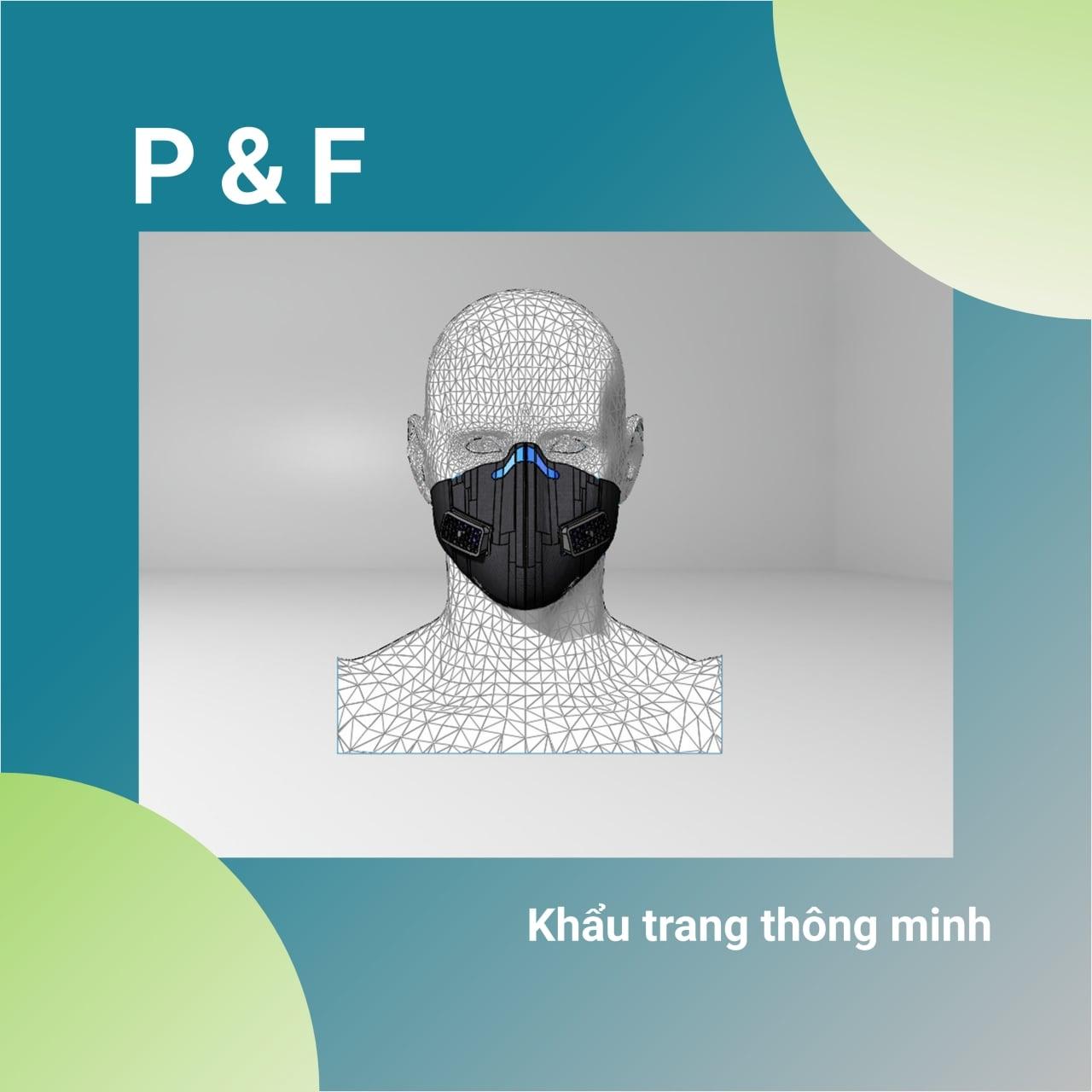 Nhóm P&F - Khẩu trang thông minh