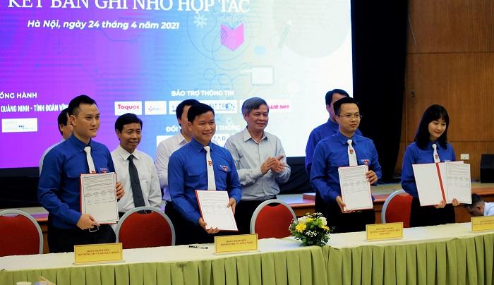 Đoàn thanh niên 4 Bộ ký biên bản ghi nhớ hợp tác về đẩy mạnh năng lực liên ngành
