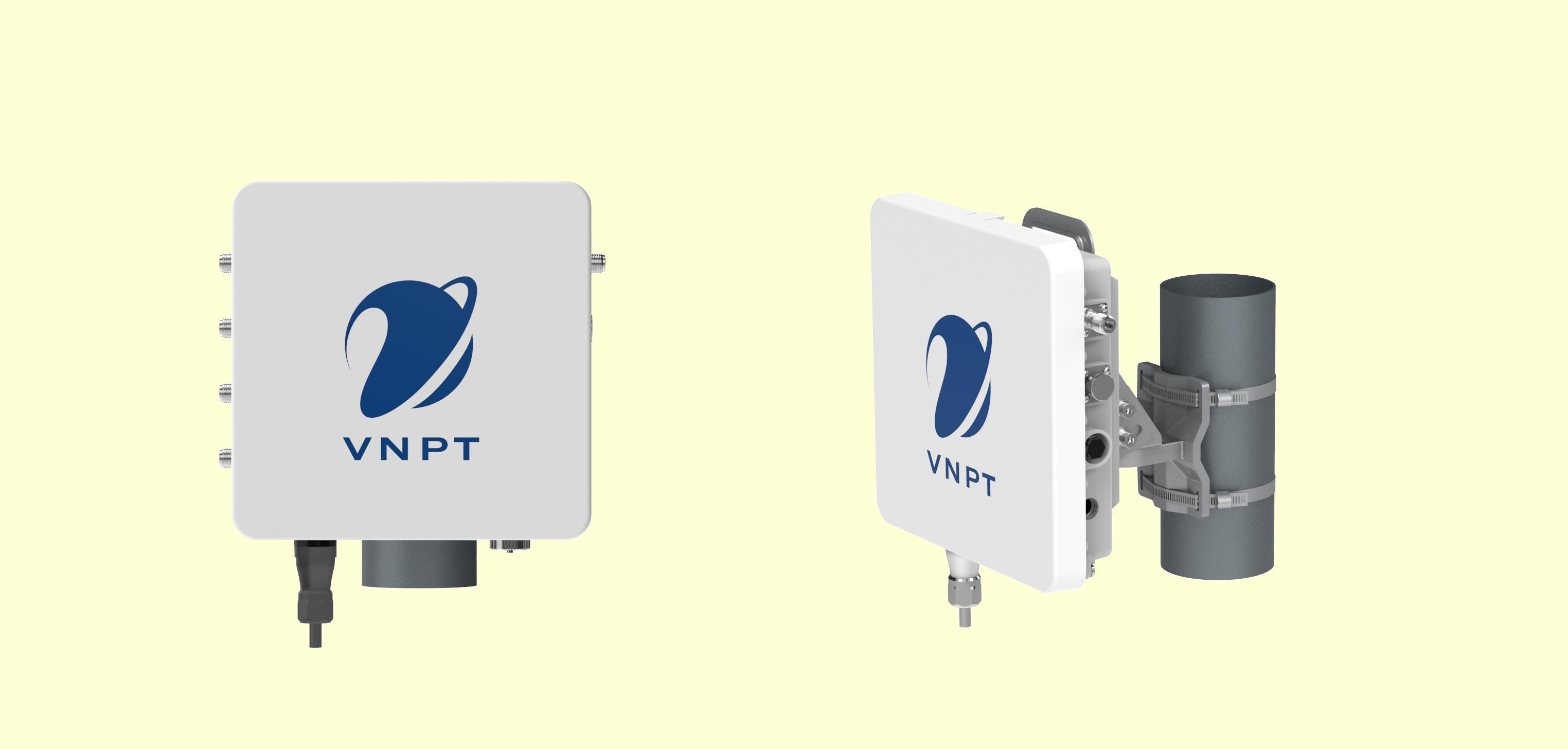 Mẫu thiết bị trạm gốc đa công nghệ | Ảnh: VNPT Technology