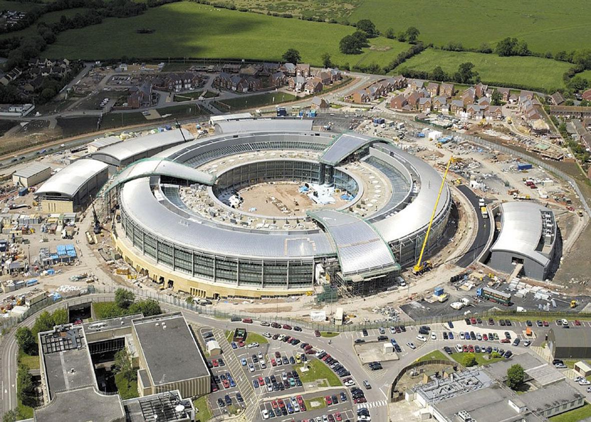 Trụ sở GCHQ ở Anh. Ảnh: TNW.