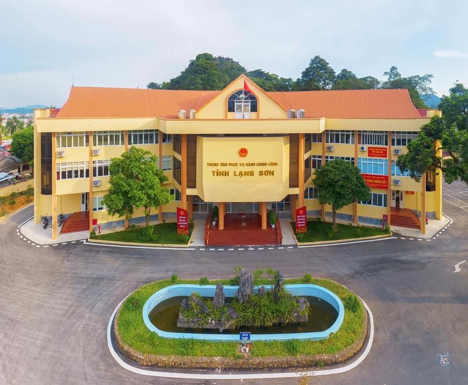 Trung tâm hành chính công tỉnh Lạng Sơn.