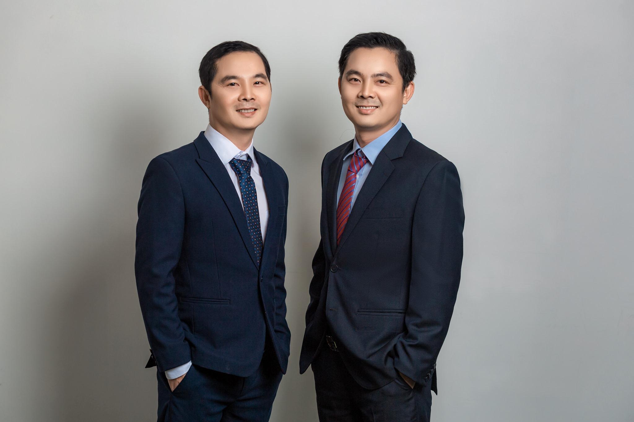 Hai nhà sáng lập của Mfat là Phan Thanh Long và Phan Thanh Vinh