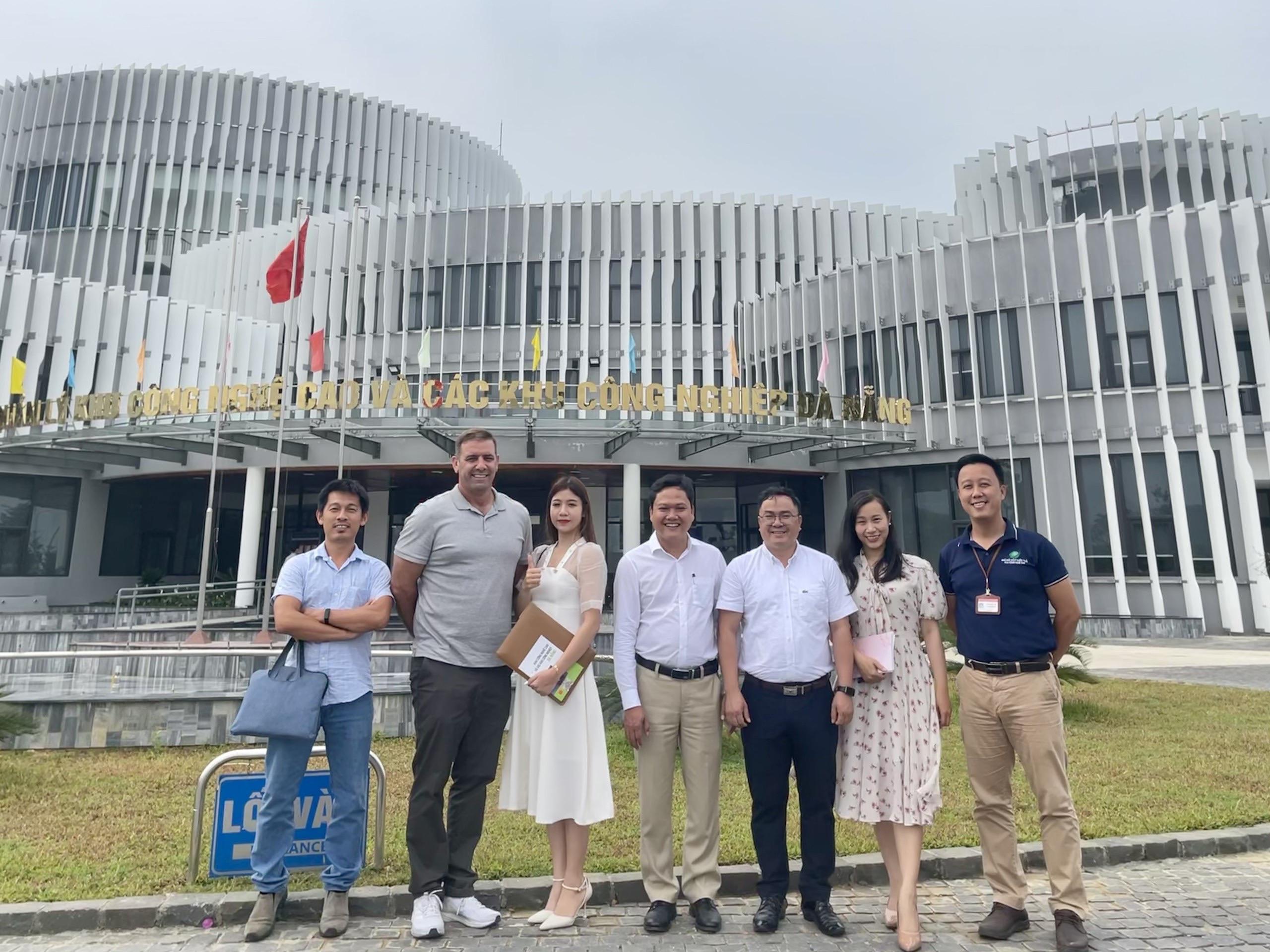 Lãnh đạo XIXO làm việc với Khu CNC Đà Nẵng trong khuôn khổ hợp tác xúc tiến đầu tư và số hoá cho Khu CNC Đà Nẵng