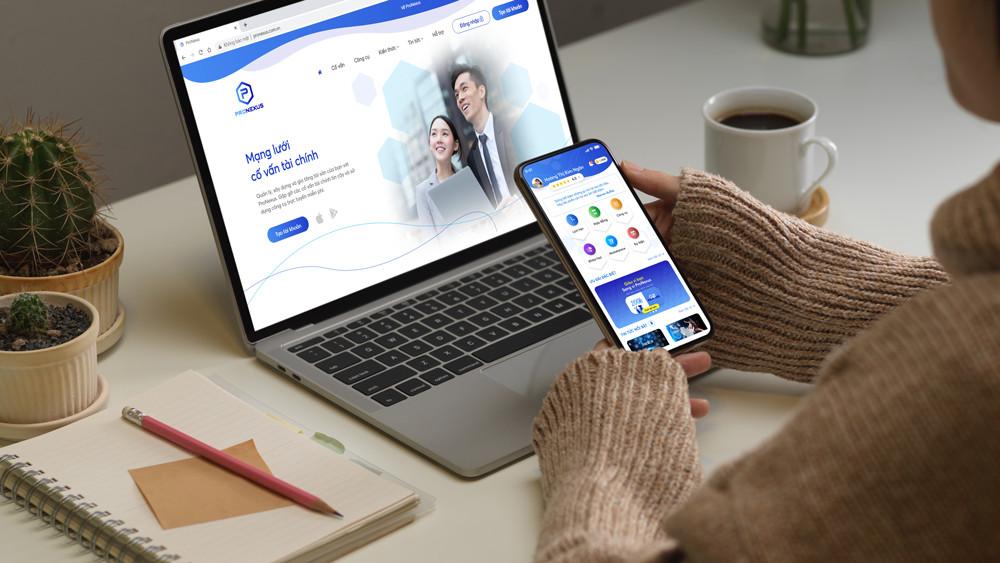 Ứng dụng kết nối các cố vấn tài chính với cá nhân và gia đình | Ảnh: ProNexus