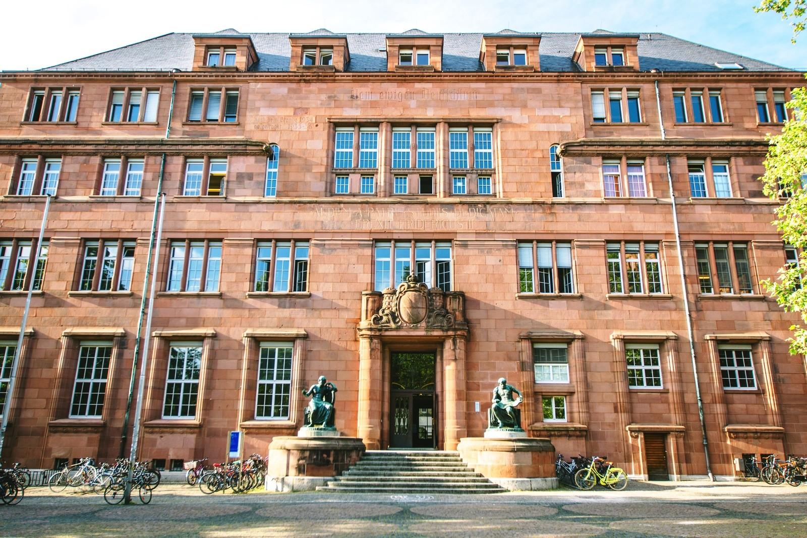 Đại học Freiburg. Ảnh: Wikipedia.