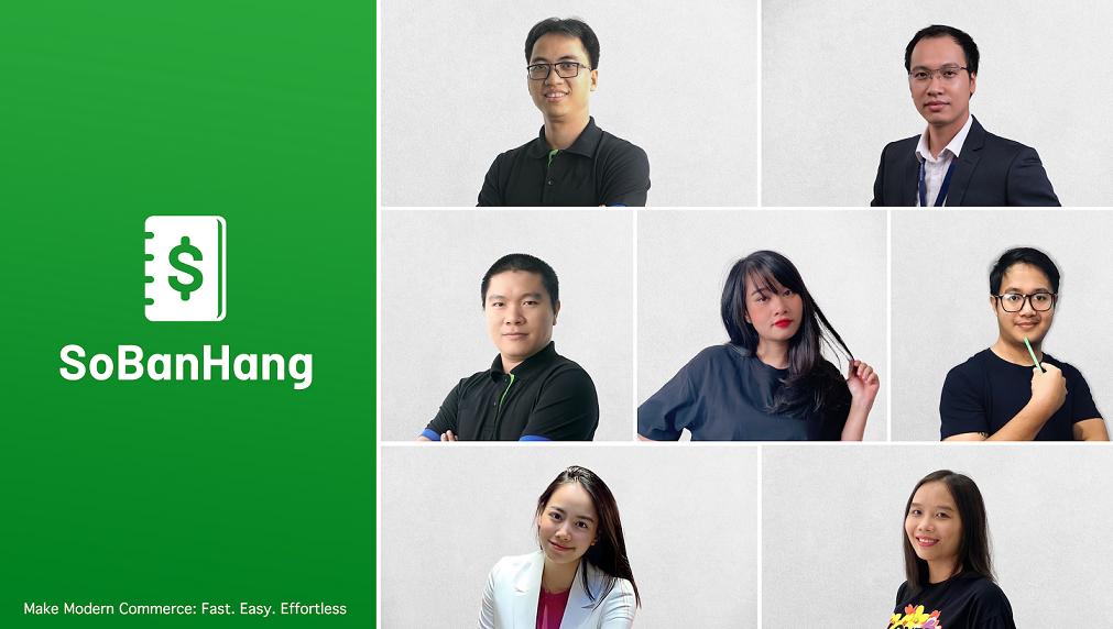 Các nhà sáng lập của SoBanHang. Nguồn: e27