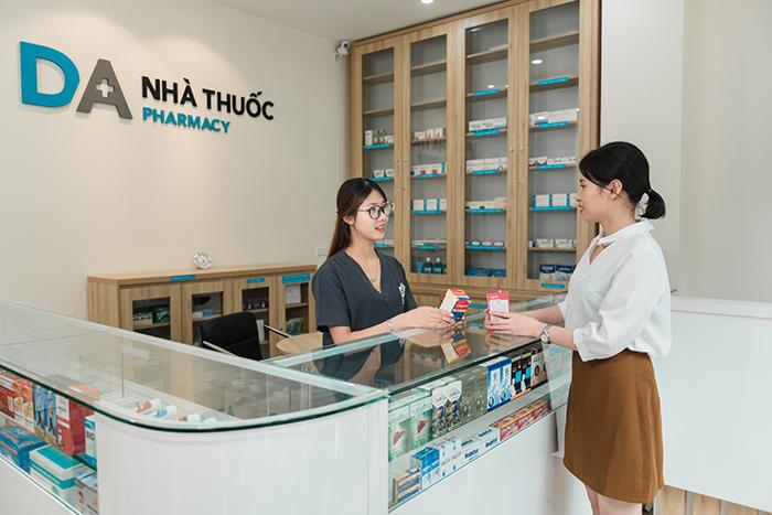Nhà thuốc nhằm đáp ứng mọi nhu cầu của người dùng. Nguồn: DA